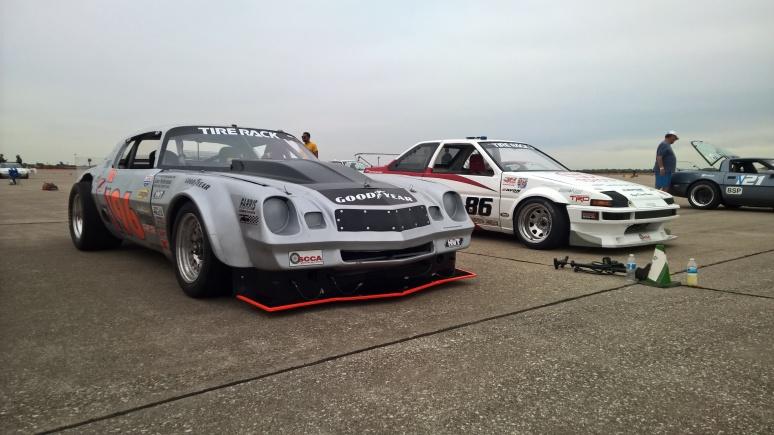 ProSolo Camaro and Dorsey